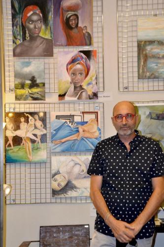 La grande collettiva di PitturiAmo - Esposizione a Roma di Enzo Martano