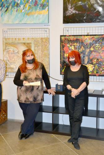 Tina e Teresa Zurlo - La grande collettiva di PitturiAmo - Esposizione a Roma