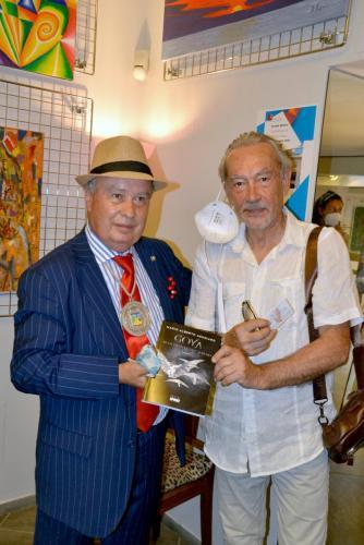 Mario Alberto Agugiaro - La grande collettiva di PitturiAmo - Esposizione a Roma