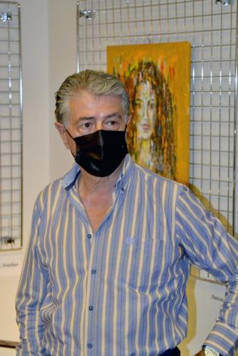 Mario Salvo, maestro internazionale e critico d'arte alla grande collettiva di PitturiAmo - Esposizione a Roma