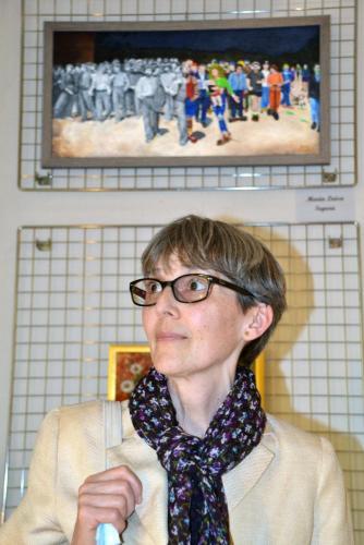 La grande collettiva di PitturiAmo - Esposizione a Roma di Maria Luisa Segura