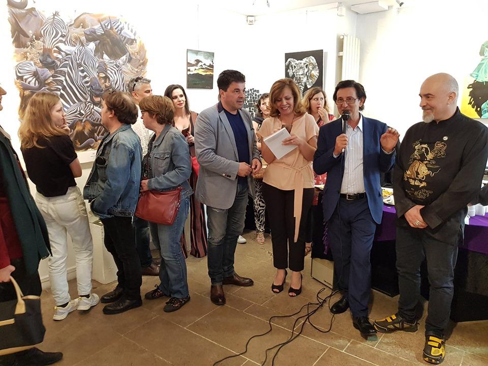 Premio Città di Parigi - Vernissage alla Galerie Thuillier di Parigi