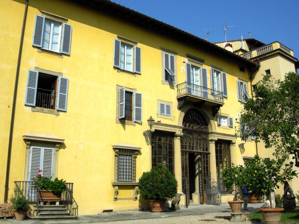 Palazzo Ximènes-Panciatichi - Dal WEB a FIRENZE città culla del Rinascimento.