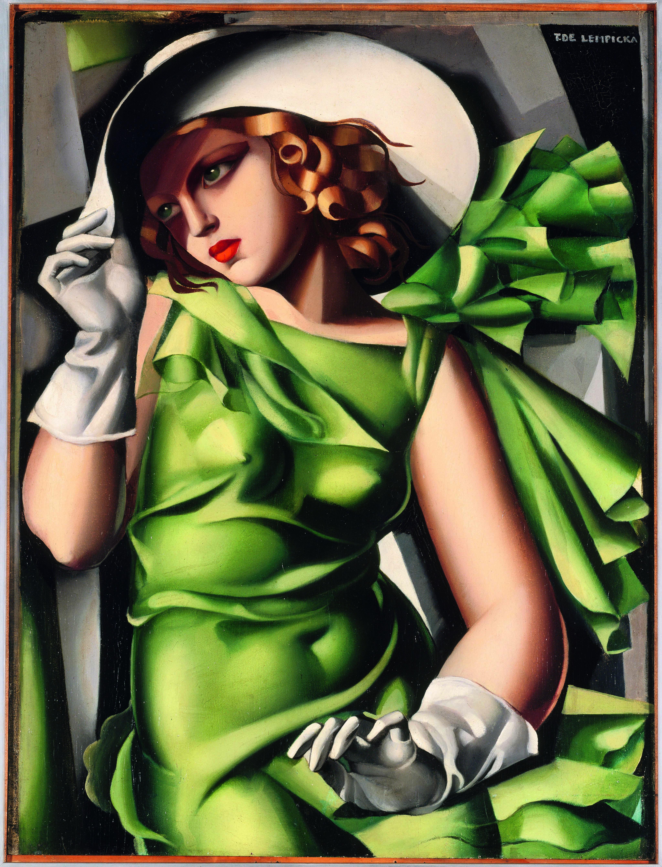 Tamara Magazine In Ragazza Lempicka De Pitturiamo Verde Di 0nw8vmN