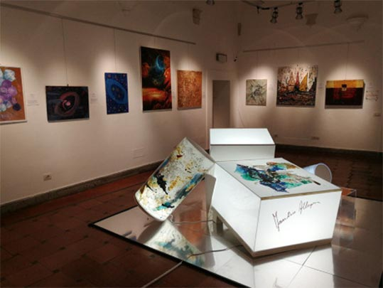 Mostra d'arte nel Palazzo Velli a Roma