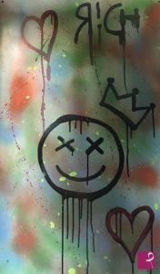 Riccardo Ruzza è uno Street Artist contemporaneo che promuove le sue opere su PitturiAmo