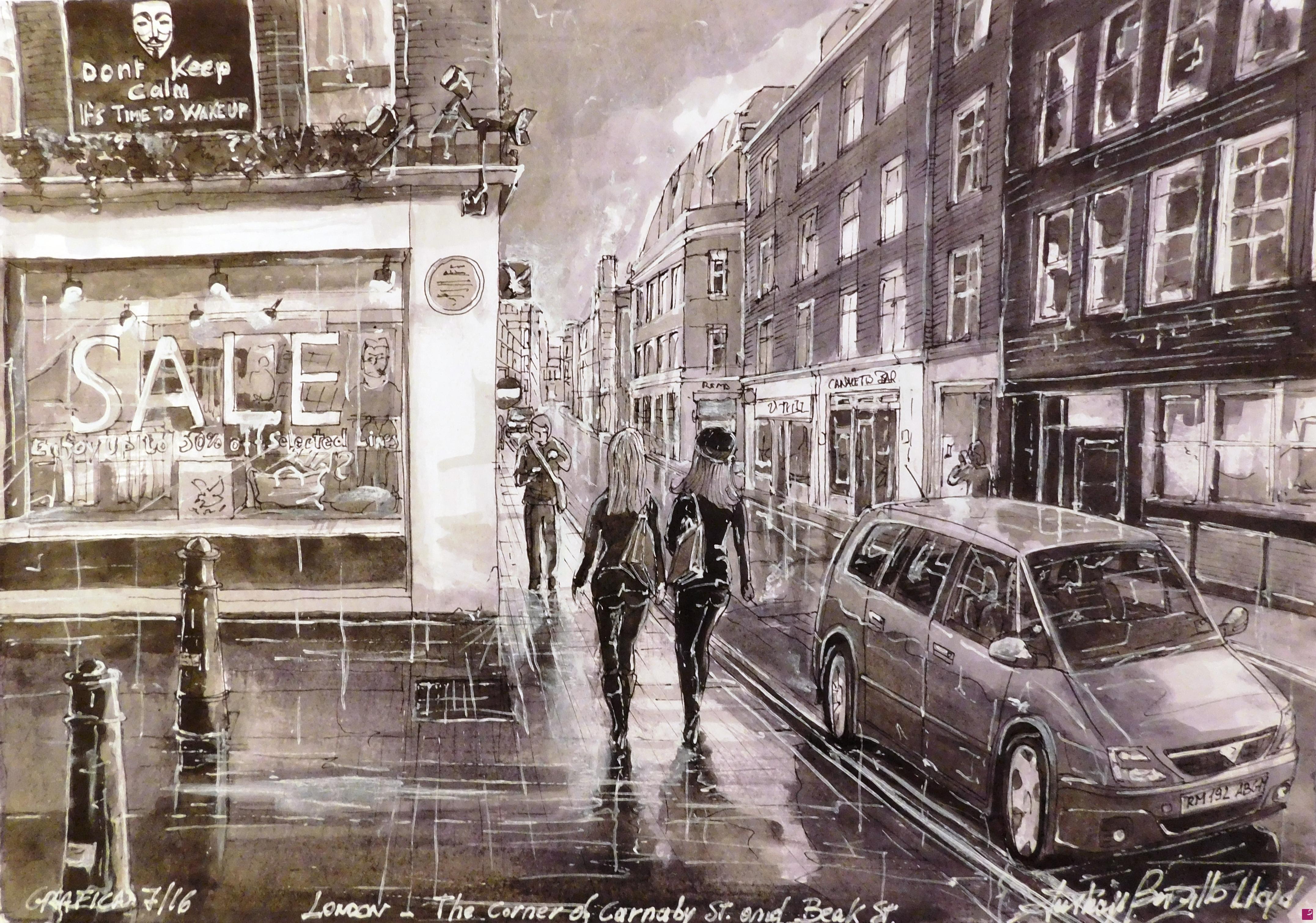 Comprare quadri online di Anthony Borzillo Lloyd