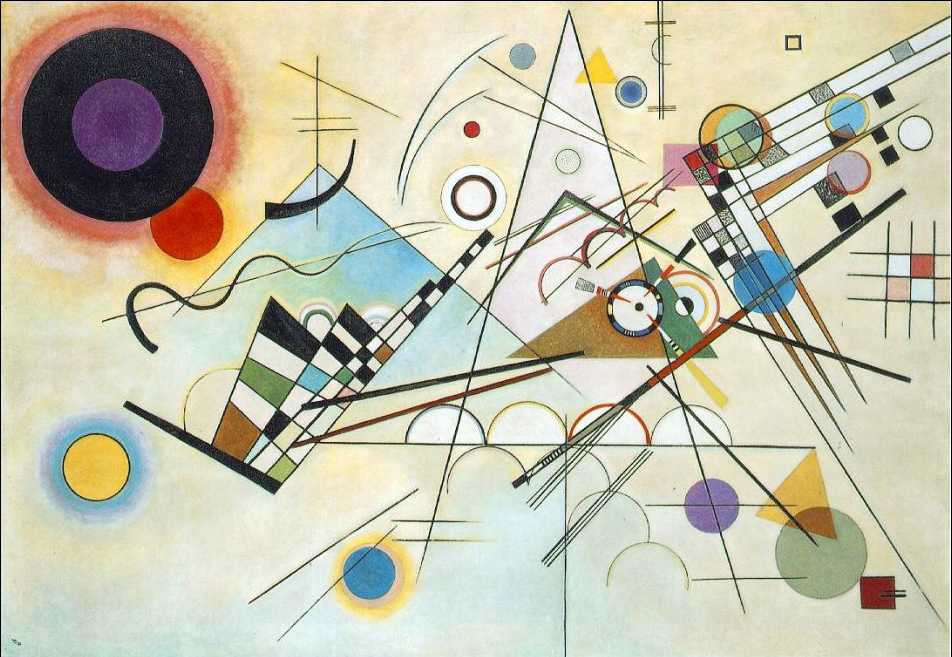 Quadro Astrattismo Kandinsky
