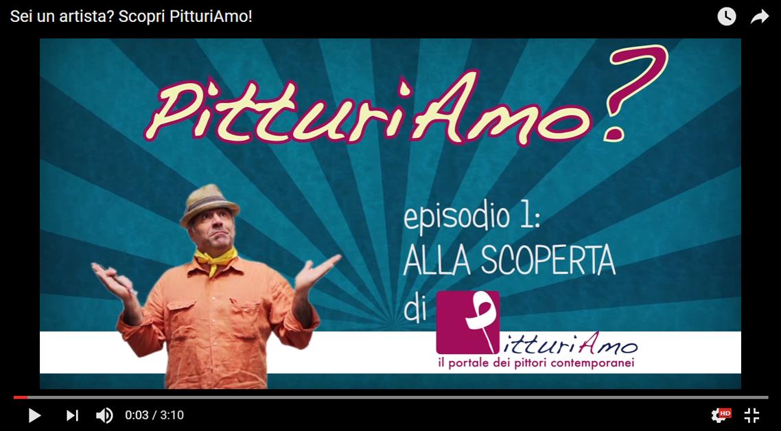 Episodio 1 - Scopri PitturiAmo, il portale dei pittori contemporanei